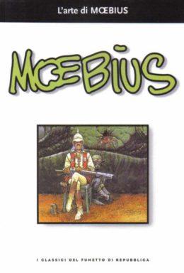 Copertina di I classici del fumetto di Repubblica n.37 – L'arte di MOEBIUS