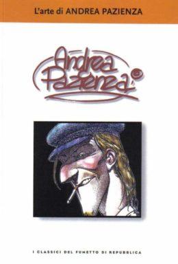 Copertina di I classici del fumetto di Repubblica n.48 – L'arte di ANDREA PAZIENZA