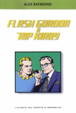 Copertina di I classici del fumetto di Repubblica n.50 – Flash Gordon & Rip Kirby
