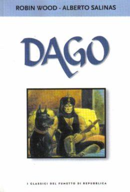 Copertina di I classici del fumetto di Repubblica n.52 – Dago