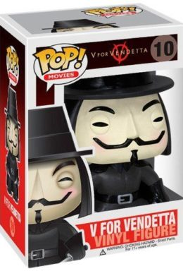 Copertina di V per Vendetta – V for vendetta – POP Movie n.10