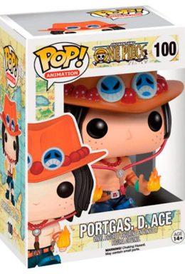 Copertina di Portugas. D. Ace – One Piece – POP Animation n.100