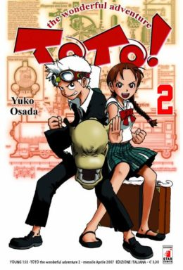 Copertina di Toto! Wonderful Adventure n.2