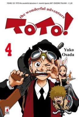 Copertina di Toto! Wonderful Adventure n.4