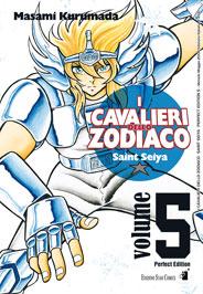 Copertina di I Cavalieri dello Zodiaco – Perfect Edition n.5