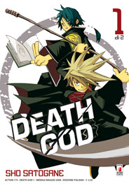 Copertina di Death God n.1 di 2