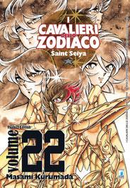 Copertina di I Cavalieri dello Zodiaco – Perfect Edition n.22