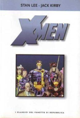 Copertina di I classici del fumetto di Repubblica n.12 – X-men