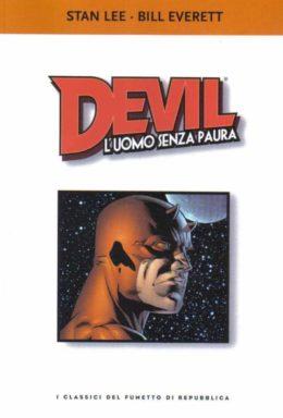 Copertina di I classici del fumetto di Repubblica n.8 – Devil L'uomo senza Paura