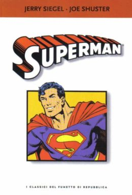 Copertina di I classici del fumetto di Repubblica n.14 – Superman