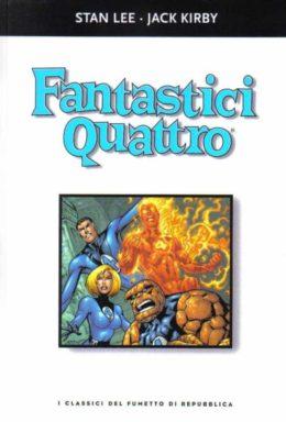 Copertina di I classici del fumetto di Repubblica n.17 – Fantastici Quattro
