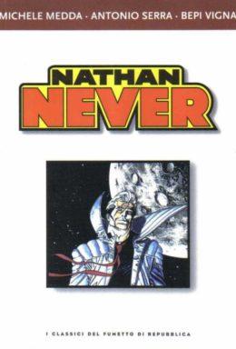 Copertina di I classici del fumetto di Repubblica n.23 – Nathan Never