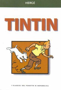 Copertina di I classici del fumetto di Repubblica n.25 – Tintin