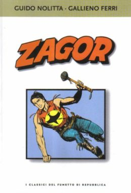 Copertina di I classici del fumetto di Repubblica n.26 – Zagor