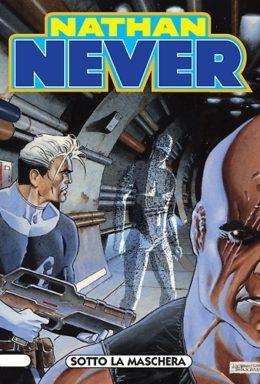Copertina di Nathan Never n.160 – Sotto la maschera