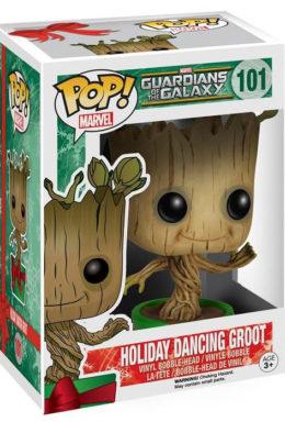 Copertina di Holiday Dancing Groot – Guardians of the Galaxy -POP Marvel n.101