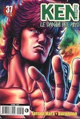 Copertina di Ken il guerriero – Le origini del Mito n.37