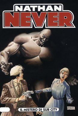 Copertina di Nathan Never n.195 – Il mistero di Sub City