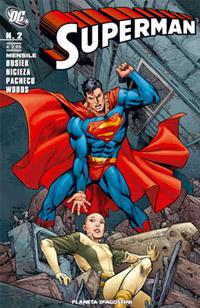 Copertina di Superman n.2 – Planeta DeAgostini