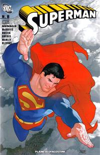 Copertina di Superman n.8 – Planeta DeAgostini