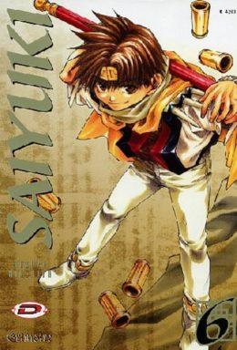 Copertina di Saiyuki n.6