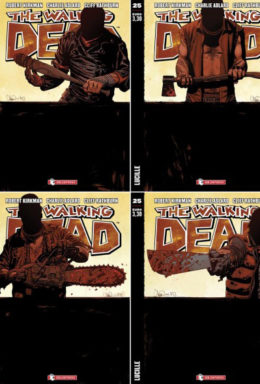 Copertina di The Walking Dead n.25 – New Edition