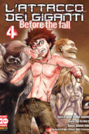L'attacco dei giganti – Before the Fall n.4 – Manga Shock n.6