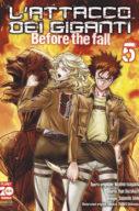 L'attacco dei giganti – Before the Fall n.5 – Manga Shock n.9