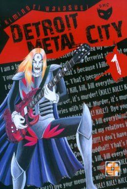 Copertina di Detroit Metal City n.01