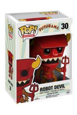 Copertina di Robot Devil – Futurama – POP Animation n.30