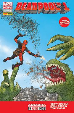 Copertina di Deadpool n.32