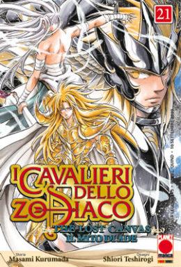 Copertina di I cavalieri dello Zodiaco Lost Canvas n.21