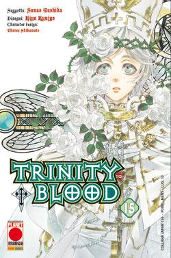 Copertina di Trinity Blood n.15