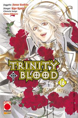 Copertina di Trinity Blood n.16