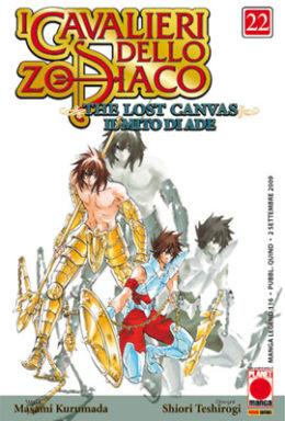 Copertina di I cavalieri dello Zodiaco Lost Canvas n.22