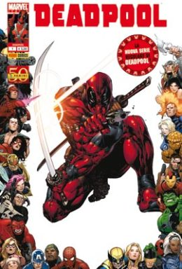 Copertina di Deadpool n.1