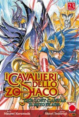 Copertina di I cavalieri dello Zodiaco Lost Canvas n.23