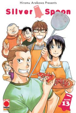 Copertina di Silver Spoon n.13 – Manga Life n.21