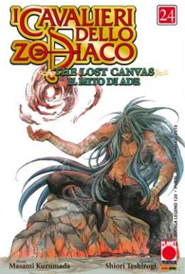 Copertina di I cavalieri dello Zodiaco Lost Canvas n.24
