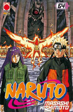 Copertina di Naruto n.64
