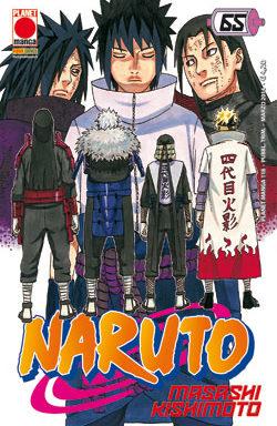 Copertina di Naruto n.65