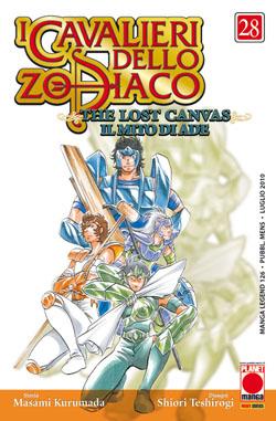 Copertina di I cavalieri dello Zodiaco Lost Canvas n.28