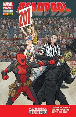 Copertina di Deadpool n.33