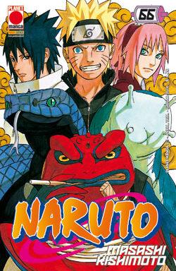 Copertina di Naruto n.66