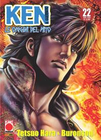 Copertina di Ken il guerriero – Le origini del Mito n.22
