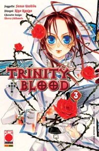 Copertina di Trinity Blood n.3