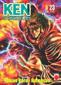 Copertina di Ken il guerriero – Le origini del Mito n.23