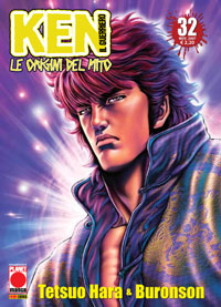 Copertina di Ken il guerriero – Le origini del Mito n.32