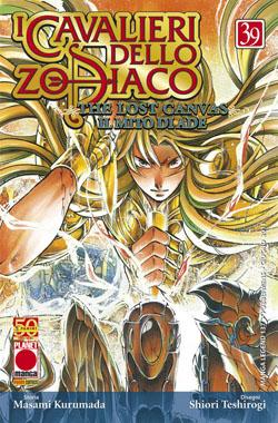 Copertina di I cavalieri dello Zodiaco Lost Canvas n.39