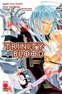 Copertina di Trinity Blood n.4